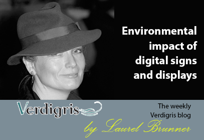 Environmental Impact of Digital Signs and Displays